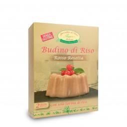 Rosso Rosetta Melotti Rice Pudding
